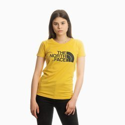 THE NORTH FACE T-SHIRT YELLOW