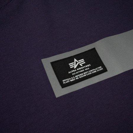 Alpha Industries Reflective Stripes T nightshade