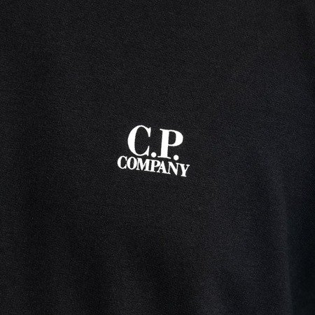 CP COMPANY CREWNECK LIGHTFLEECE BLACK
