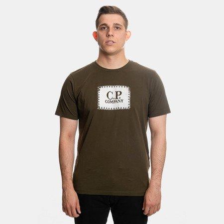 CP COMPANY T-SHIRT JERSEY 30/1 GREEN