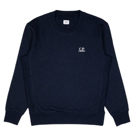 CP Company Diagonal Raised Fleece Chest Logo Crewneck