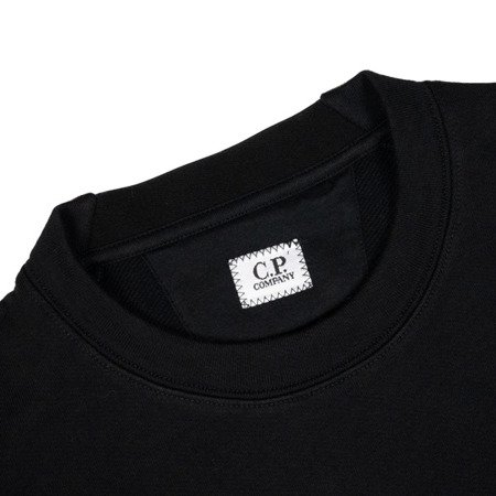 CP Company Diagonal Raised Fleece Lens Crewneck