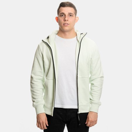 CP Company Hooded Open Diagonal Fleece