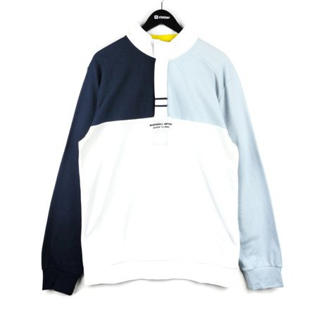 Marshall Artist Sailing Half Zip Navy Sky White