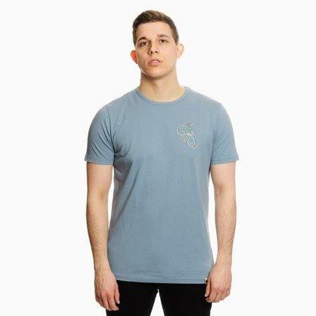 Pretty Green Mens Paisley Chest Embriodery T-Shirt