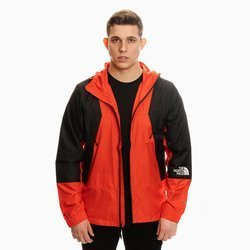 THE NORTH FACE LIGHT WINDSHELL JACKET RED