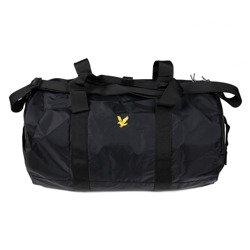 TORBA LYLE & SCOTT LIGHTWEIGHT BARREL BAG TRUE BLACK