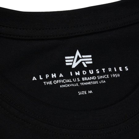 Alpha Industries Reflective Stripes T Black