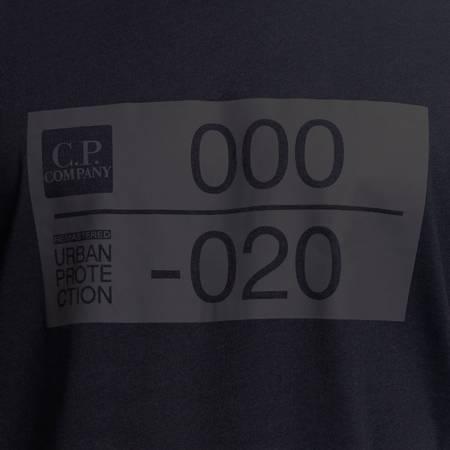 CP COMPANY T-SHIRT SHORT SLEEVE JERSEY 30/1 BLACK