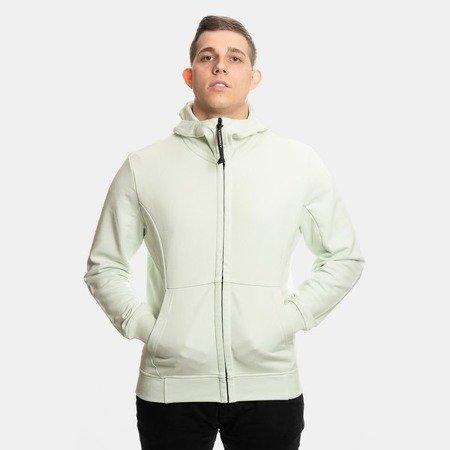 CP Company Hooded Open Diagonal Fleece