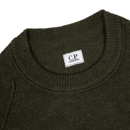 CP Company Lambswool Crew Neck Sweater