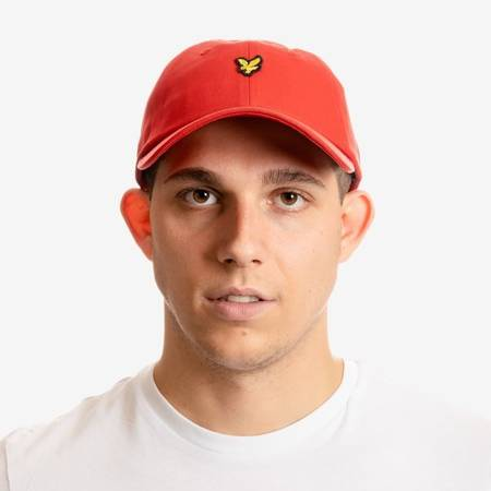 CZAPKA LYLE&SCOTT BASEBALL CAP RED