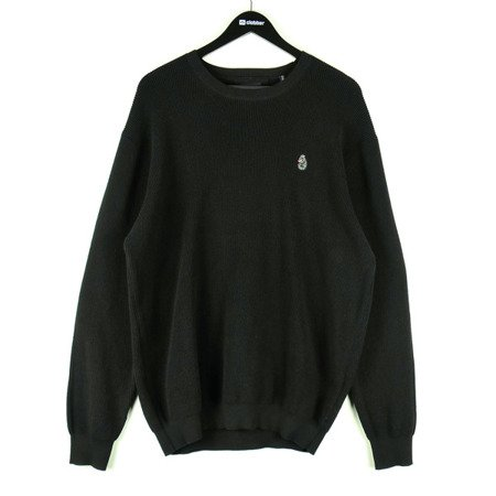 LUKE1977 EASY NOW KNIT BLACK-SWETER