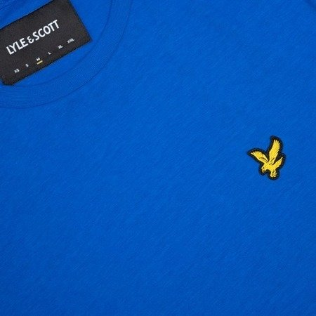 LYLE&SCOTT CREWNECK T-SHIRT LAKE BLUE