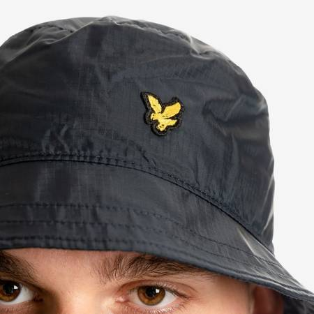LYLE & SCOTT RIPSTOP BUCKET HAT NAVY BLUE