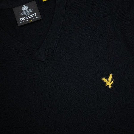 Lyle & Scott Cotton Merino V Neck Jumper