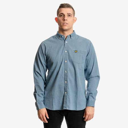 Lyle & Scott Indigo LS Shirt