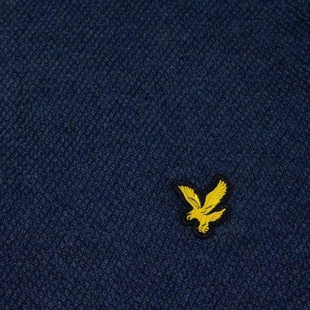 Lyle & Scott Moss Stitch 1/4 Zip Jumper