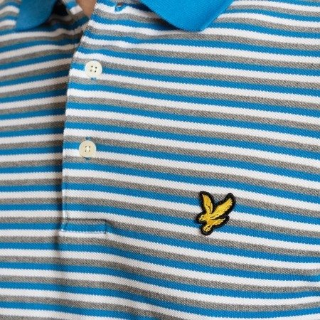 Lyle & Scott Stripe Polo Shirt