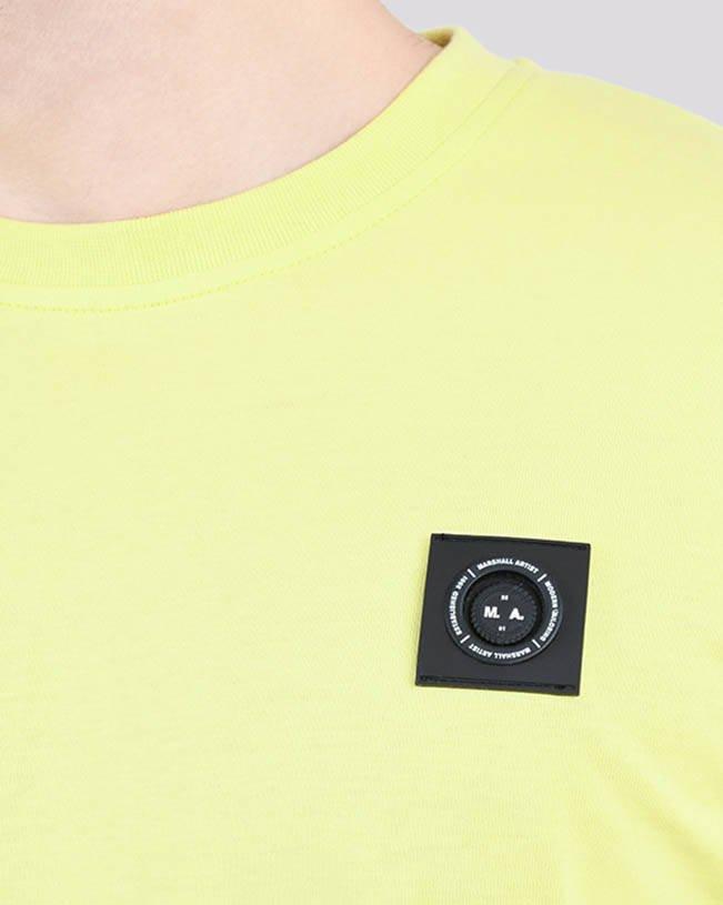 MARSHALL ARTIST SIREN T-SHIRT 420 LIME