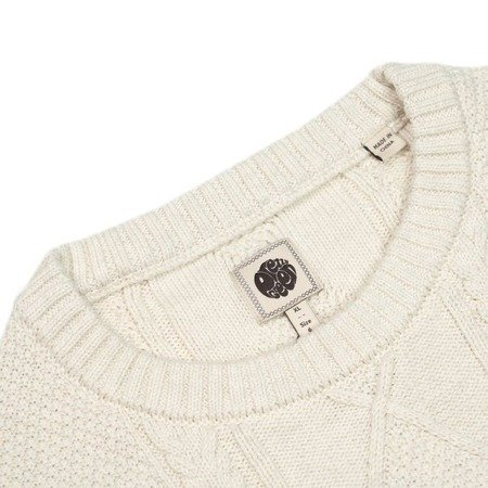 Pretty Green Mens Cable Knit Jumper