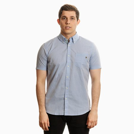Pretty Green Mens Classic Rt Dobby Shirt