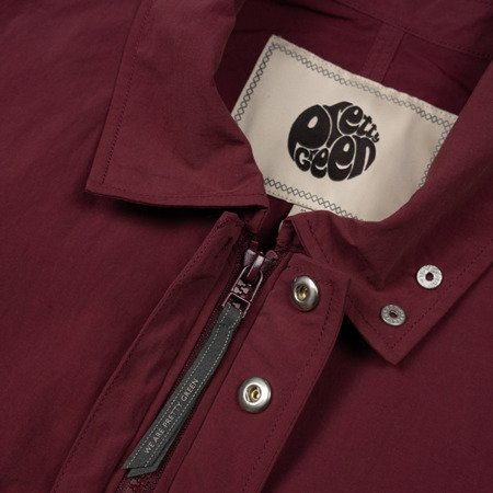Pretty Green Mens Zip Trough Nylon Overshirt