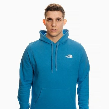 THE NORTH FACE HOODIE BRIGHT BLUE